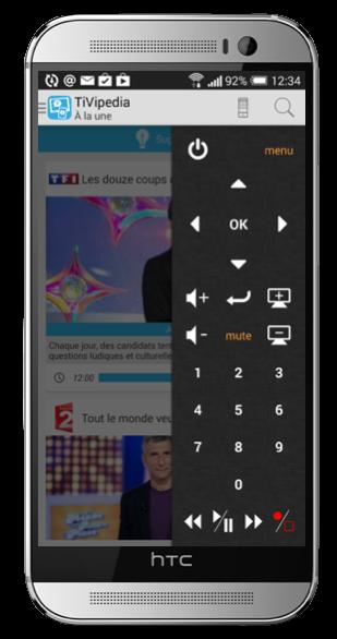 Télécommande TV Orange sur Android